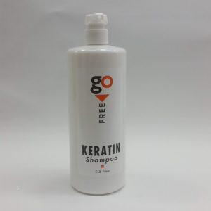 גו פרי שמפו קרטין (Go Free Keratin Shampoo). כמות: 1000 מל