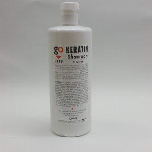 גו פרי שמפו קרטין (Go Free Keratin Shampoo). כמות: 500 מל